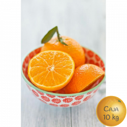 Naranjas con hoja